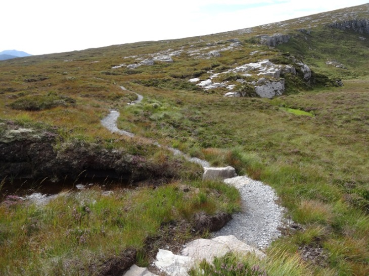 The new path to Spidean Conich. It is lovely, very obvious and was definitely worth backtracking to find!